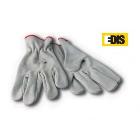 Handschuh Edis Rindnarbenleder - 12 Paar - Größe 10
